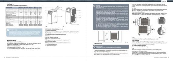 Руководство по эксплуатации  Timberk AC TIM 05H P3 стр2